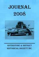 Front cover of the 2008 Riverstone Journal