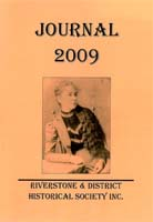 Front cover of the 2009 Riverstone Journal