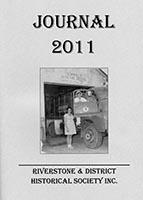 Front cover of the 2011 Riverstone Journal