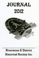 Front cover of the 2012 Riverstone Journal